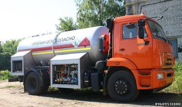 Газовозы Камаз